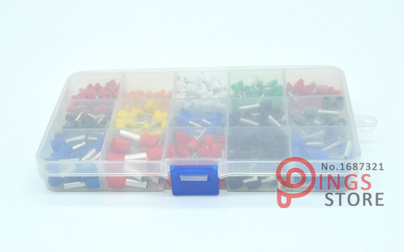 ᗖ675pcs/Kit cable connector splice insulated terminal block kit ...