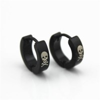 Popular Skull Earrings for Men