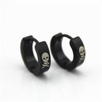 Popular Skull Earrings for Men-Buy Cheap Skull Earrings ...