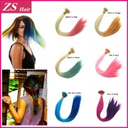 online cheap rainbow hair extensions