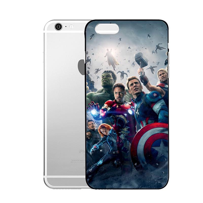 √Enfriar la cubierta dura del caso de los Vengadores para el iPhone ...