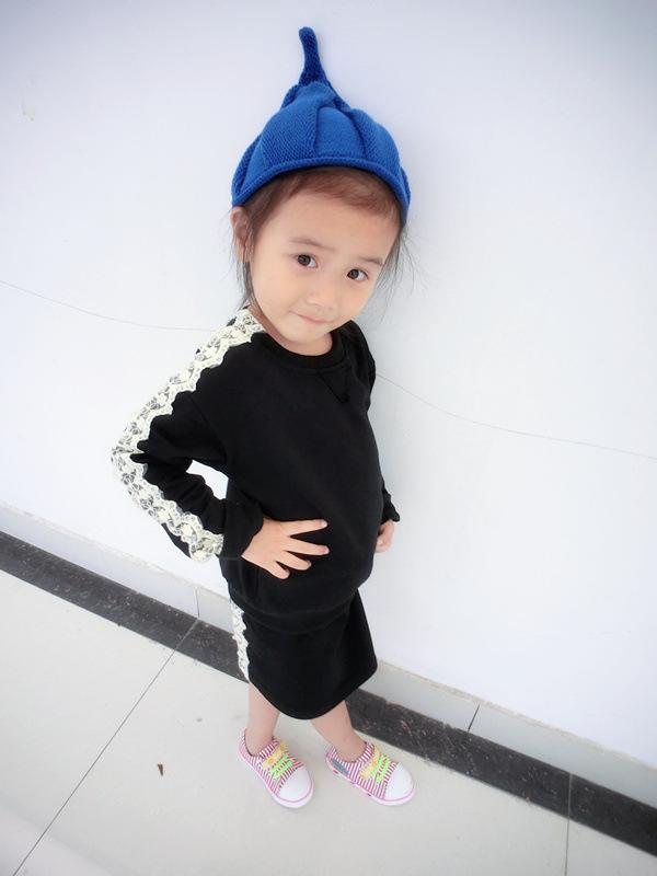 ₪V-TREE otoño lana hecho punto del bebé asistente sombrero gorras ...