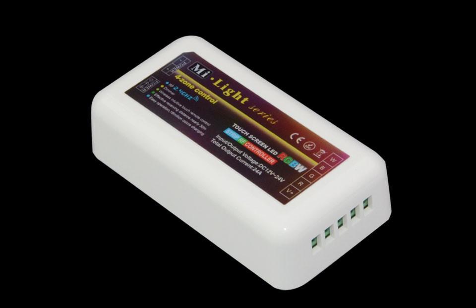 ᗜ Ljഃ2.4g 4 zone mi light wireless rf remote controller 1xrgb