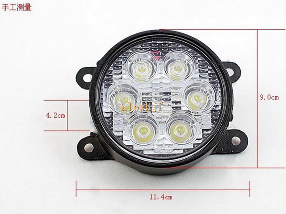 Rdx Projecteurs Ouverture Noir Mat pour RENAULT TWINGO 2 phase 2 2012-2014