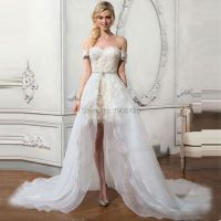 Popular Wedding Dresses Removable Skirt-Buy Cheap Wedding ...