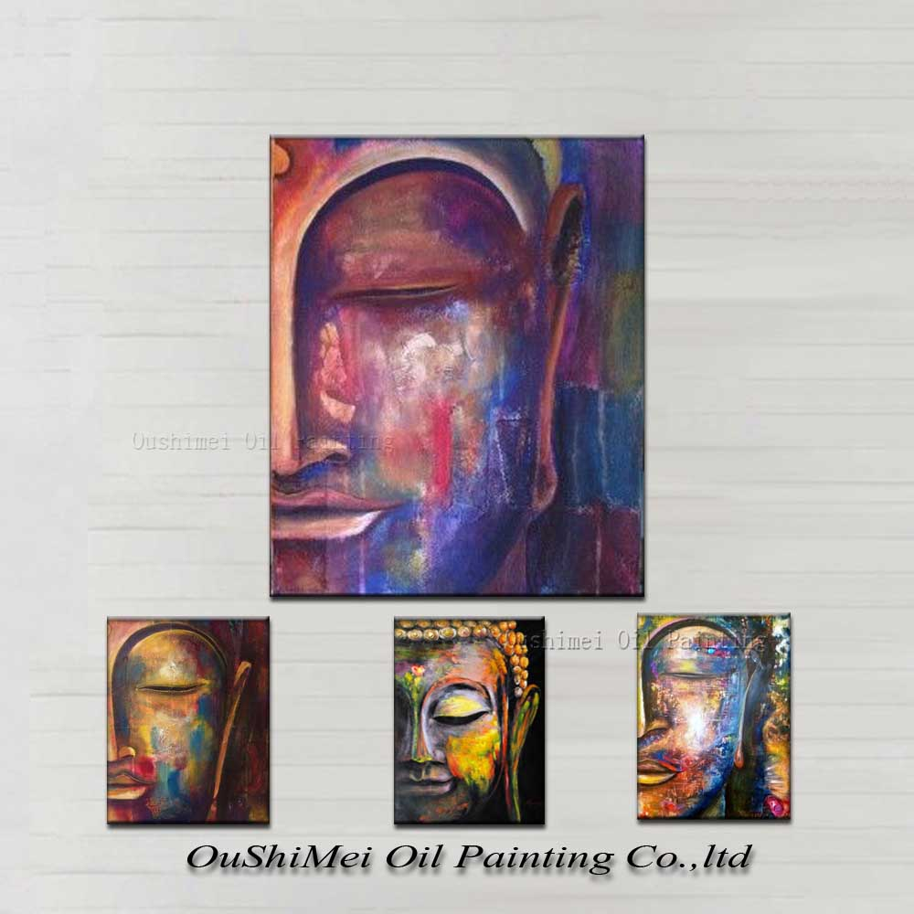 Canvas painting High Quality Hand painted Group Oil