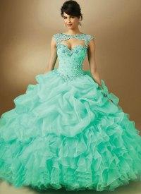 vestido de 15 anos curto 89048 Quinceanera Dresses Mint ...