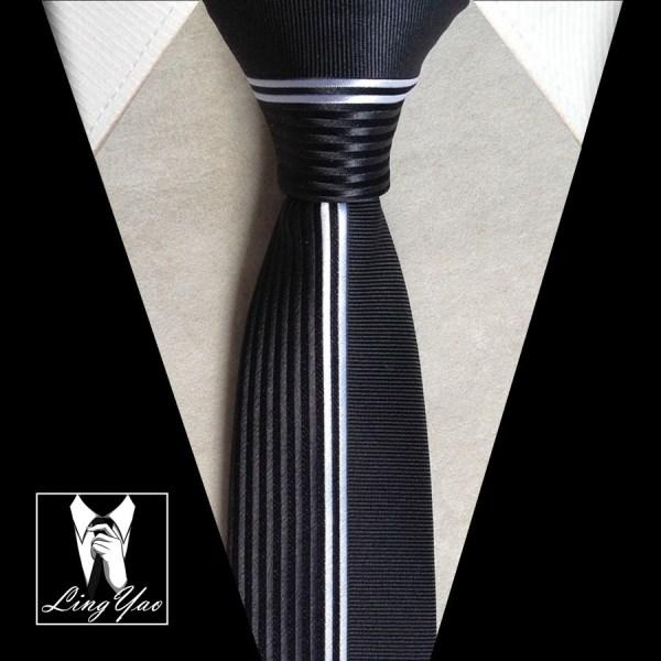 NEW Designer Panel Necktie Men Luxury Patchwork Ties Half