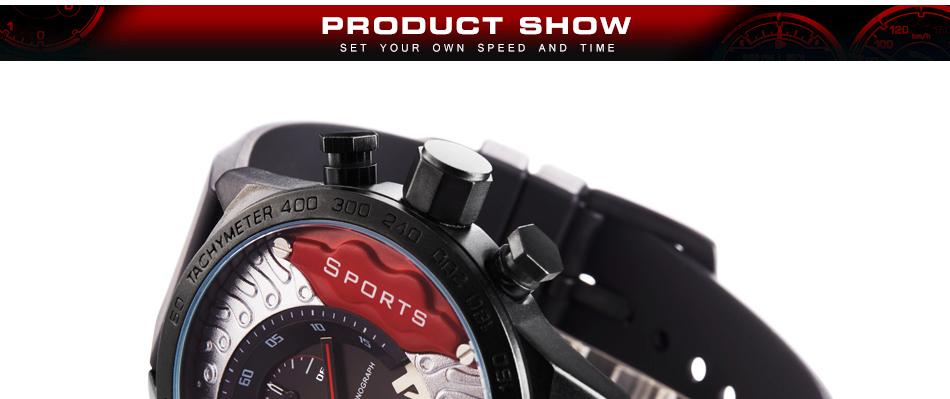 aec1e5b3fab SINOBI Fast   Furious Chronograph Mens Relógios de Pulso Esportes Edição  Limitada 2017 Homens À Prova D  Água Pulseira de Genebra Relógio de Quartzo