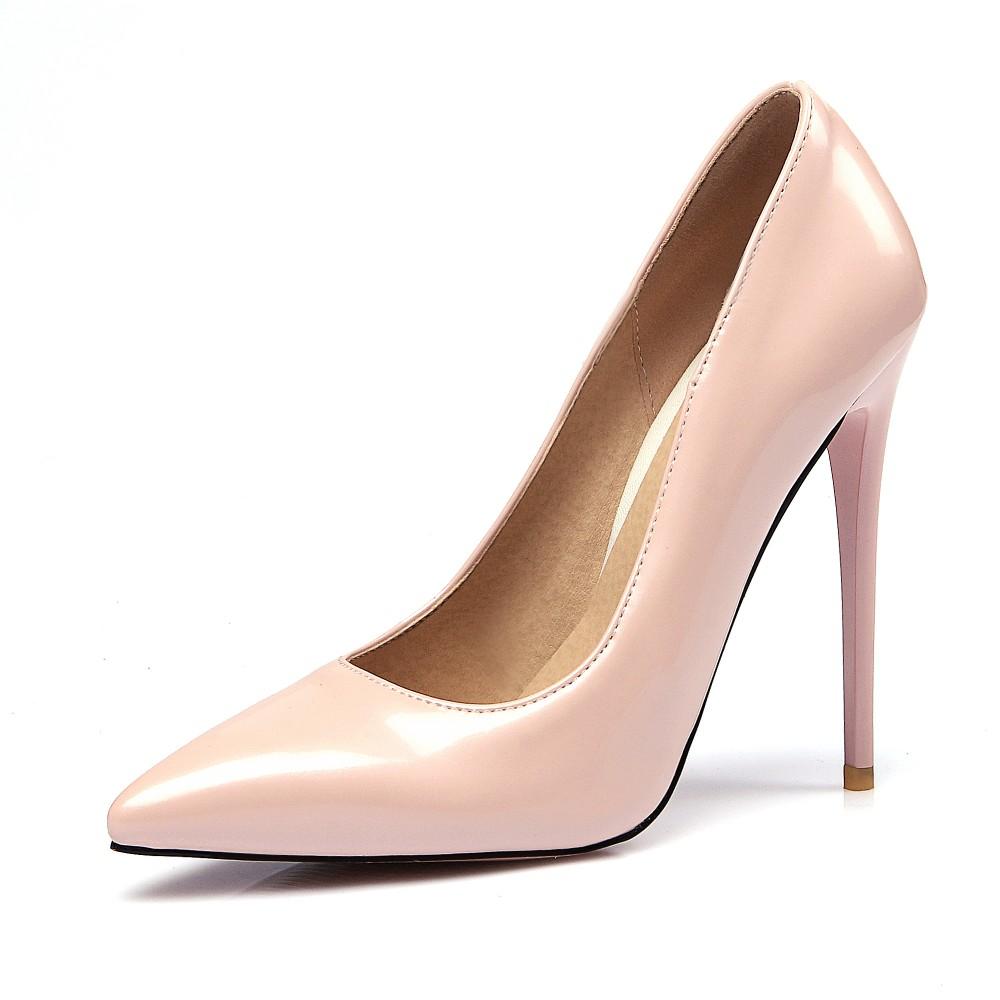 642338f7777c Original Intention Women Pumps 2018 Fashion Pointed Toe Square Heels Pumps  Popular Black Shoes Woman Plus US Size 3-10USD 51.79 pair ...