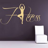 Gym Name Sticker Fitness Crossfit Decal Body building ...
