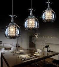 Aliexpress.com : Buy 3 lights Bar crystal pendant lamps ...