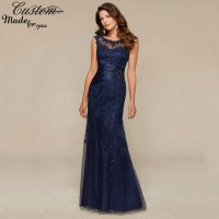 Vestidos Social Formal Party Evening Dress Tulle Crystals ...