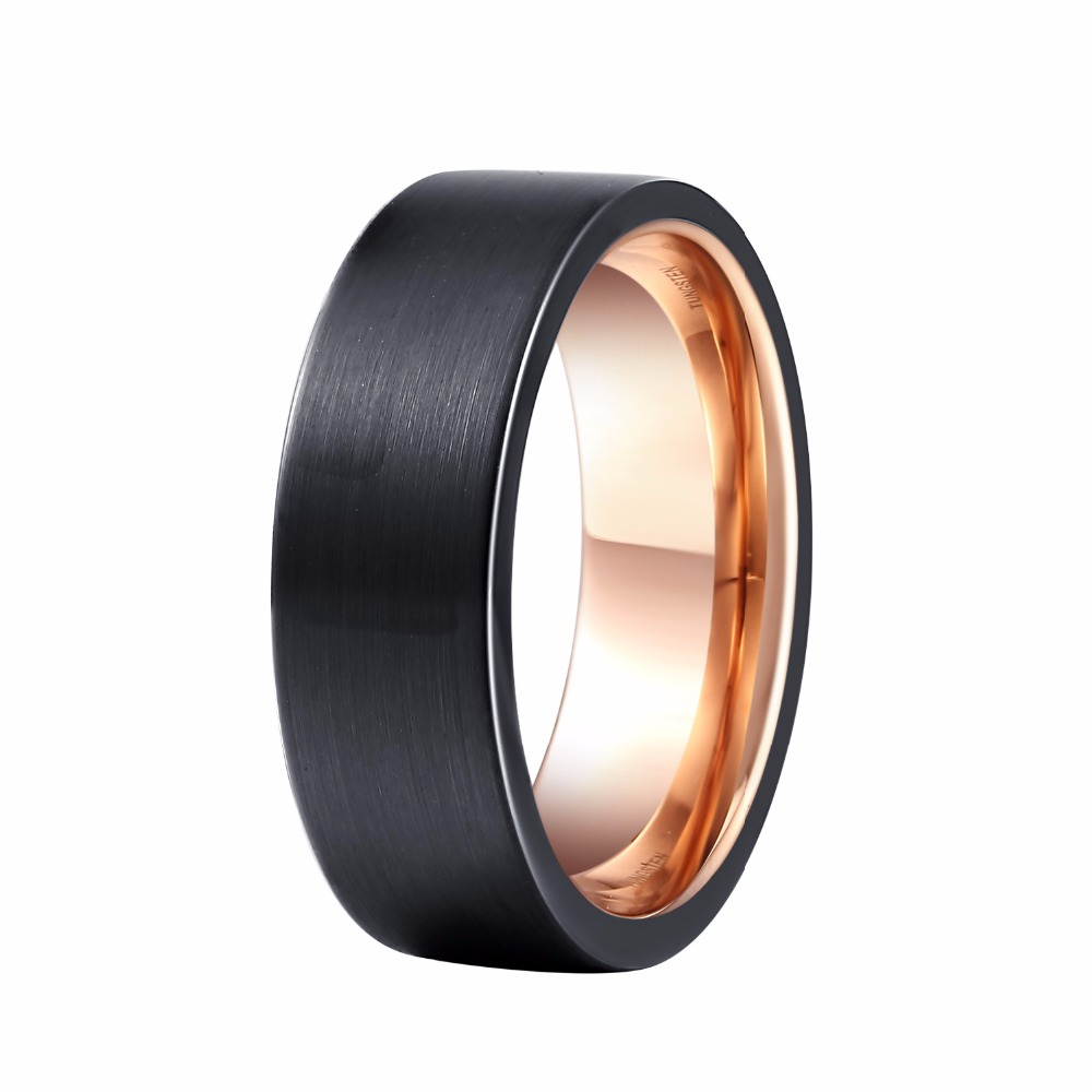 Popular Mens Black Wedding Bands Buy Cheap Mens Black