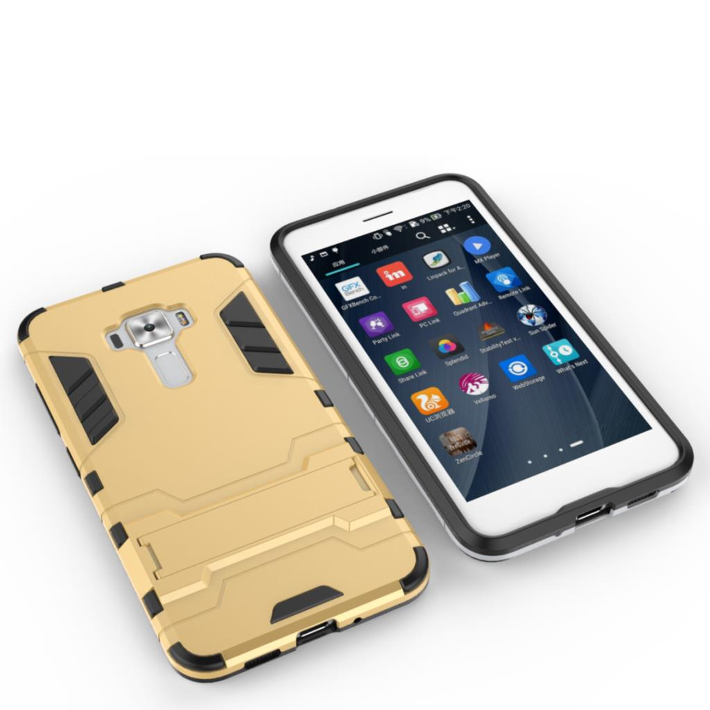 ᗕShockproof Stand Hard Phone Case for ASUS Z012DC Z012DB ZenFone 3 ...