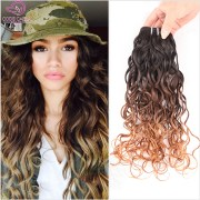 ombre brazilian hair 6a water