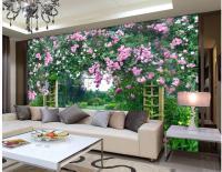 Popular Flower Garden Mural-Buy Cheap Flower Garden Mural ...