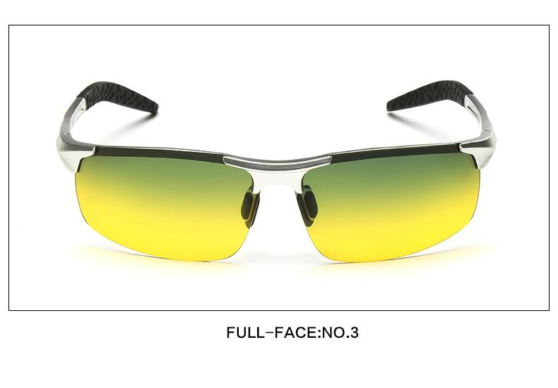 Ezreal day night vision goggles guida occhiali da sole polarizzati per gli uomini  guida auto occhiali telaio in lega di occhiali notte cfb2eb3d53