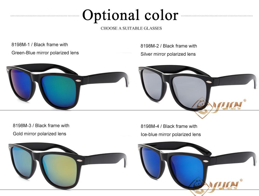 Flashing- Lunettes de soleil rondes Hommes Femmes rétro lunettes de soleil de lunettes de soleil de mode à la mode ( Couleur : #8 ) JRm0obk