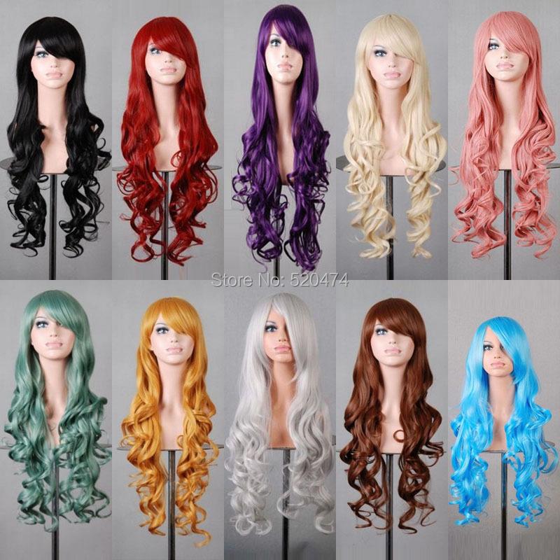 El envío libre mcoser 60 cm sintético recto rojo Cosplay peluca con trenza  alta temperatura 100% Fibra pelo wig-288aUSD 18.99 piece ... 314934bb8641