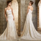Mermaid Style Wedding Dresses with Belts
