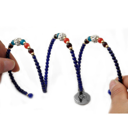 Super-héros Iron Man Arc Coeur Photo Verre noosa snap Chunk élastique perles bracelet
