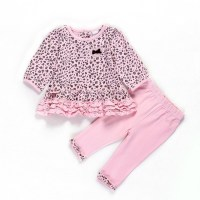 2015 baby girl clothes sets infant girl ruffled outfit ...