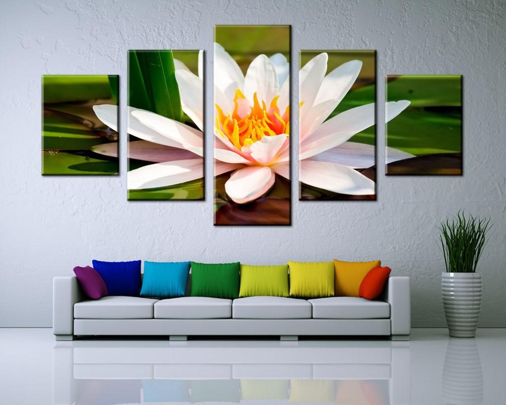 ᑎ‰Cuadros decoracion 5 unidades moderno arte de la pared hermoso ...
