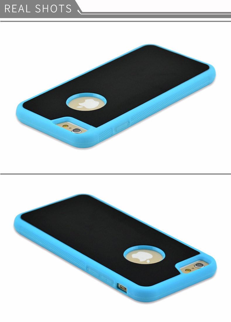 Anti Gravity Phone Case For Iphone 5c Se X 8 Magical 2in1 Full Cover Tempered Glass 6 Plus Iphone6s 6s Nano Suction Adsorbed