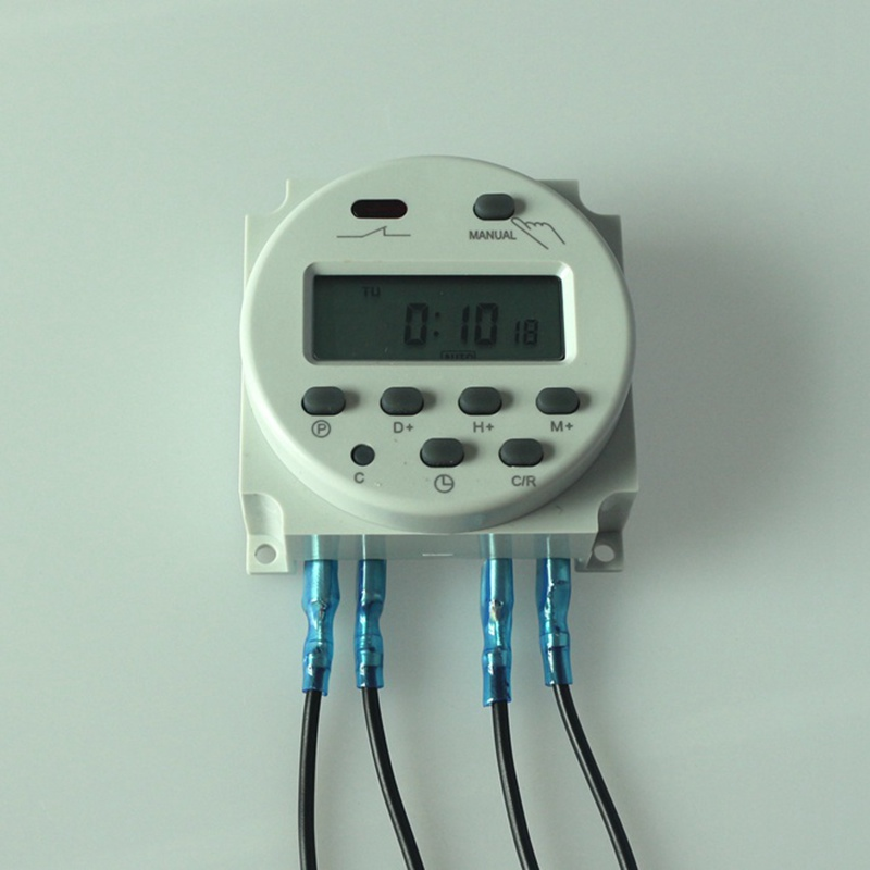Power Programmable Timer Time Switch Relay With 4pcs 15cm 59quot Wire