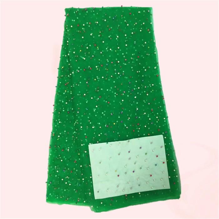 ᐂA maioria moda grânulos coloridos design festa de tule de malha ... b706150a133