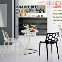 Creative fashion simple cafe chair dining chair outdoor ...