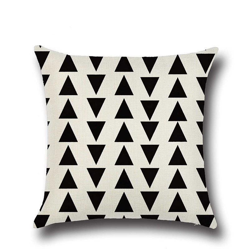 Varmhus Clásico Geometría Throw Pillow Case Cubierta Naturaleza Casa ...