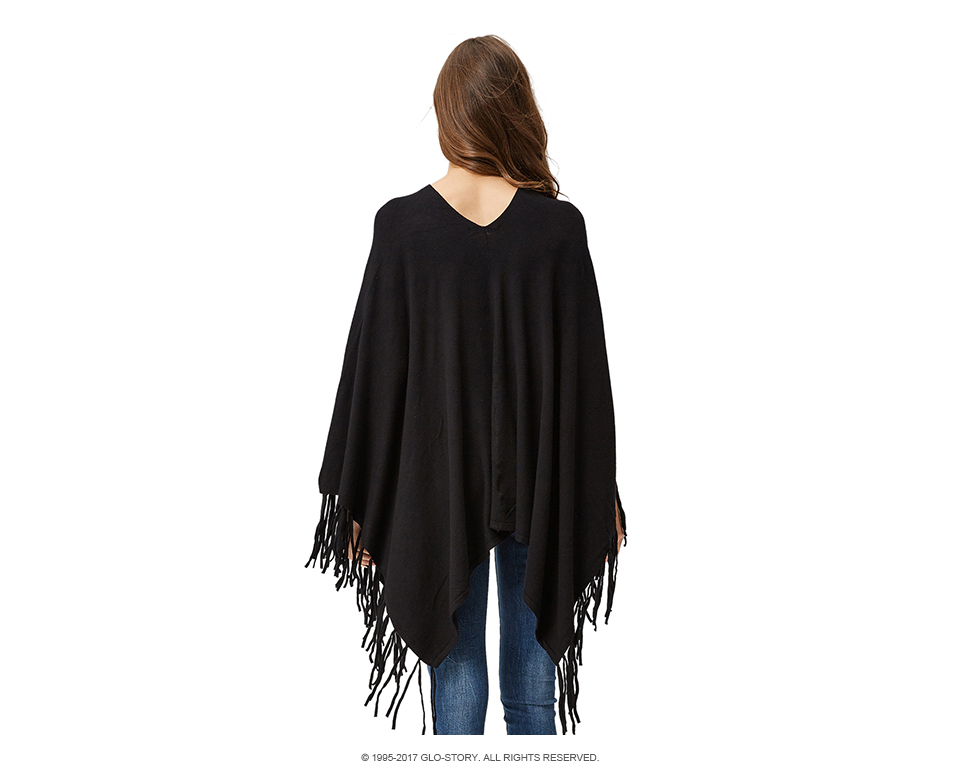⓪GLO-STORY suéter mujeres whith borla suéteres 2018 otoño punto ...