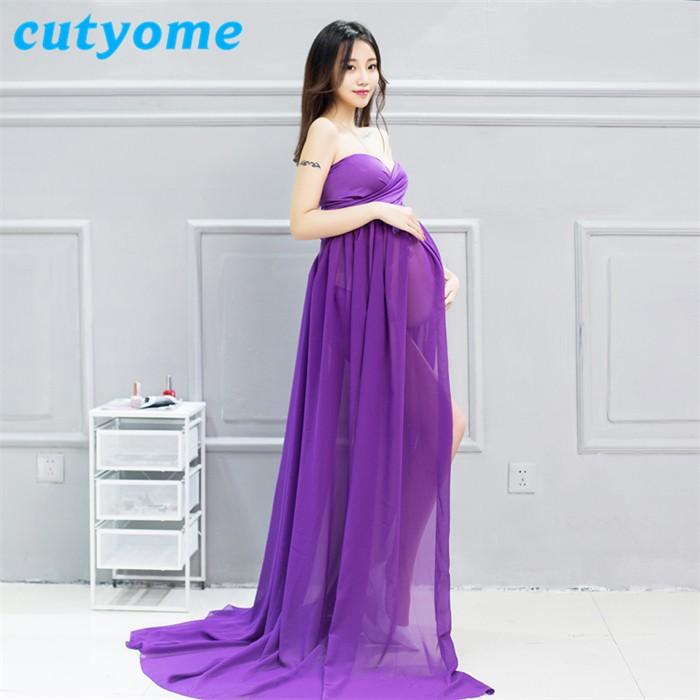 2017 diseñador caliente elegante Maternidad para fotos moda Fancy ...