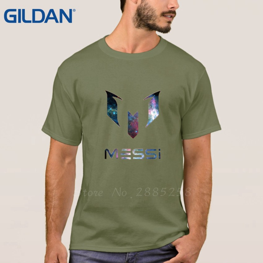 HTB1 yF7RVXXXXafXVXXq6xXFXXXu - Clothes Print Tee Shirt Homme Style Black Lionel Messi Logo For Footballer Fans Short-Sleeve For Men T-Shirt Size S To 3xl