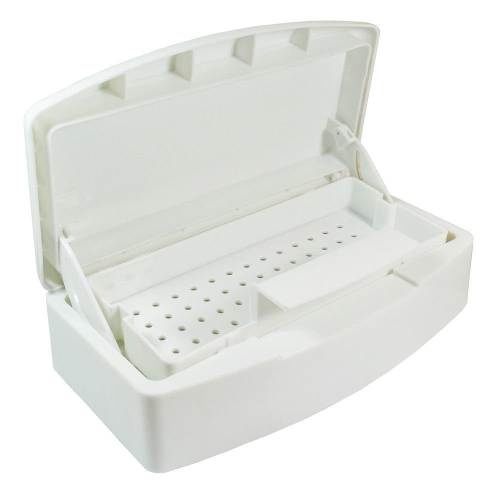 ∞JAVC@ New useful Pro Sterilizer Tray Box Nail Art Salon ...