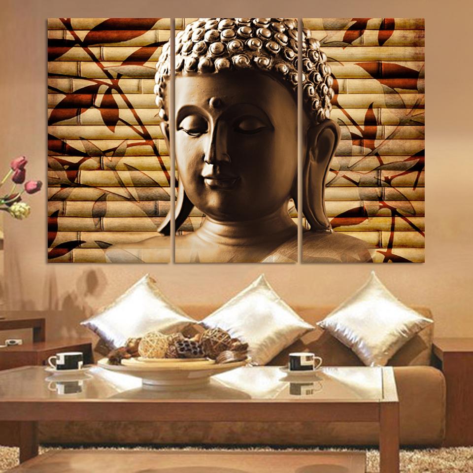 Schon Buddha Kunst Leinwand Malerei Decor Wand Kunst Buddha Bild Landschaft  Leinwand Malerei Moderne Wohnzimmer Dekorative