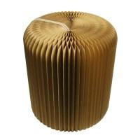 milieu creatieve papier trek vervorming zitting stoel ...