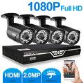 ZOSI 4CH 1080P AHD DVR 2 0MP 1080P CCTV Camera P2P WIFI Home Outdoor Security Camera