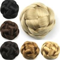 Bun Hair Pieces For | curly messy bun hair piece scrunchie ...