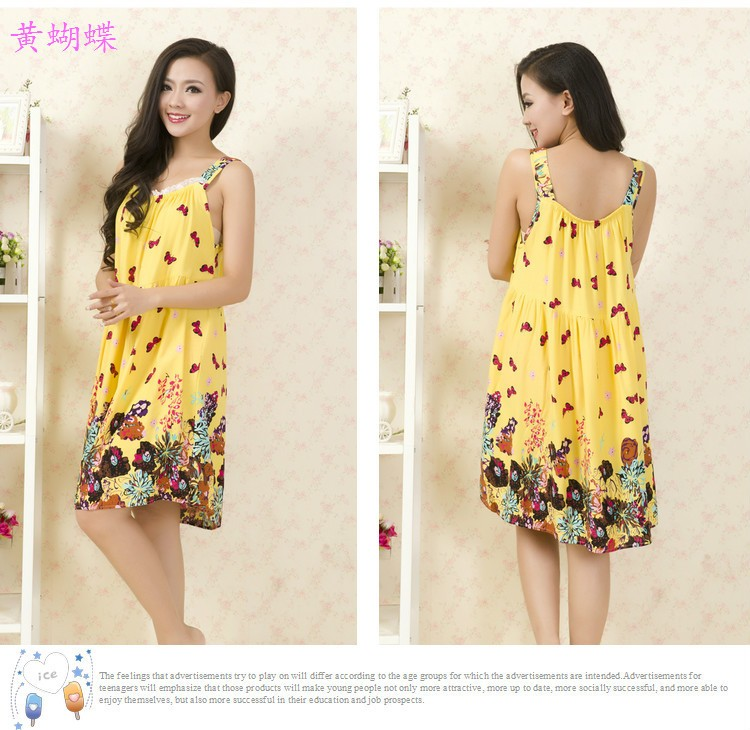 3872ca1fd7a Plus Size Nightgowns Women Sexy Spaghetti Strap Night Dress Summer Elegant  Night Gowns Ladies Sleepshirts Cotton Sleepwear