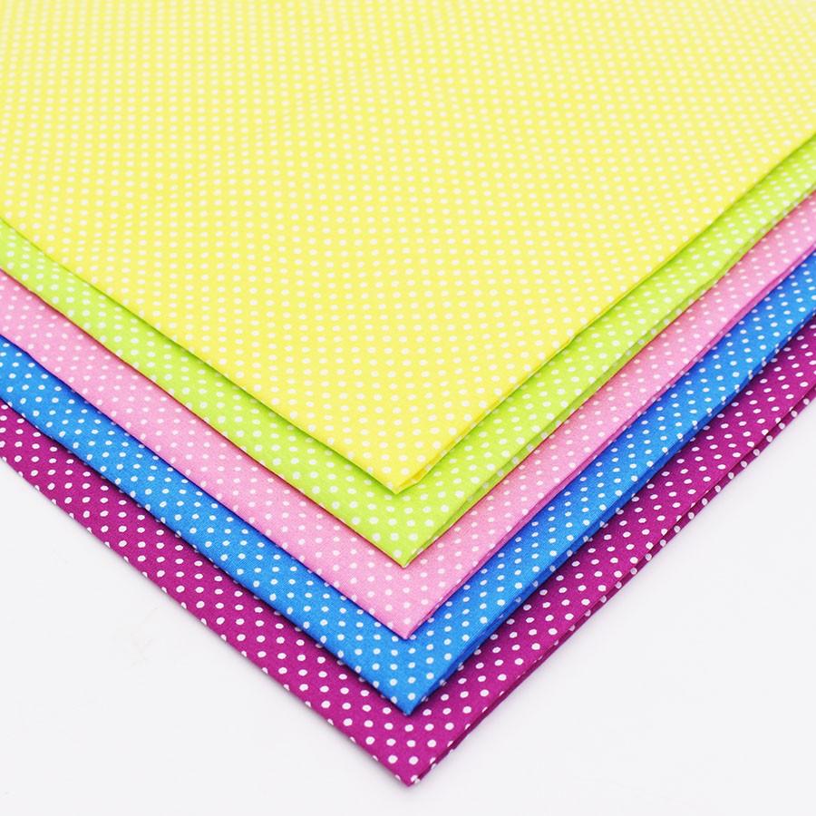 Brossé doux en flanelle 100/% coton Largeur 112 cm petite tache motif imprimé Haute Qualité