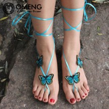 Online Crochet Barefoot Sandals China