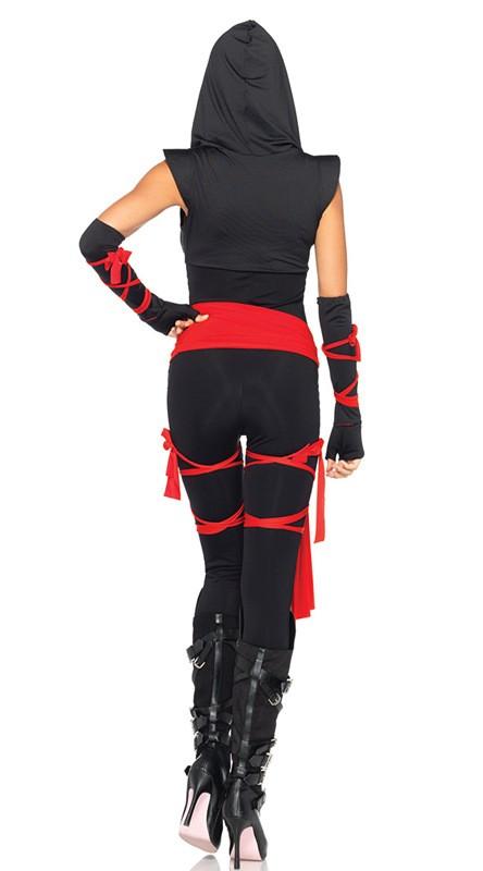 Halloween Sexy Ladies Female Ninja Costume Cosplay Lingerie Female