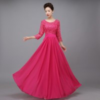 Popular Fuschia Evening Gowns-Buy Cheap Fuschia Evening ...