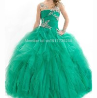 Popular Girls Pageant Dresses Size 12-Buy Cheap Girls ...