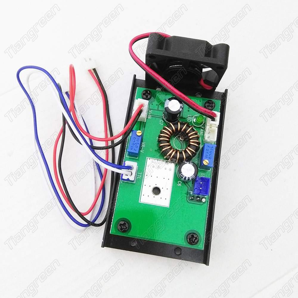 Blue Laser Driver 450nm Ttl Diode Module Circuit Board 1 3w 0061