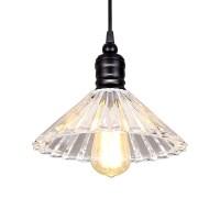 Modern Simple Crystal Pendant Lamp Simple Loft Pendant ...