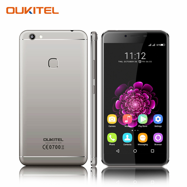 Oukitel U15S 5.5 Inch Screen MT6750T Octa Core Smartphone Android 6.0 4GB RAM+32GB ROM Cell Phone Fingerprint Mobile Phone